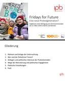 Fridays for Future Eine neue Protestgeneration?