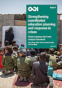 Strengthening coordinated education planning and response in crises
