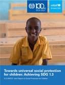 Towards universal social protection for children: Achieving SDG 1.3